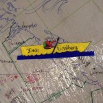 Deb Walters Guatemala kayak route